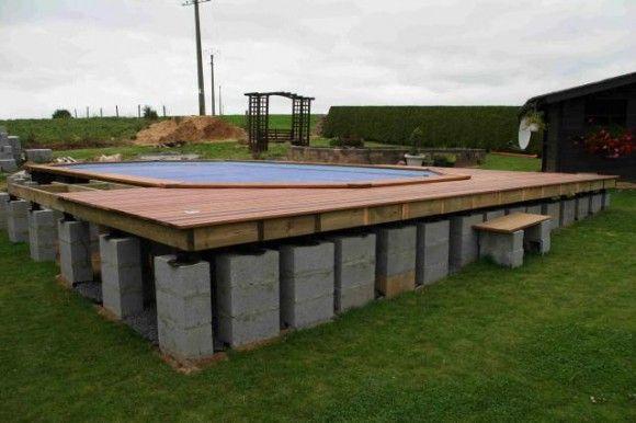 Construction de la plage construction Pinterest Container pool