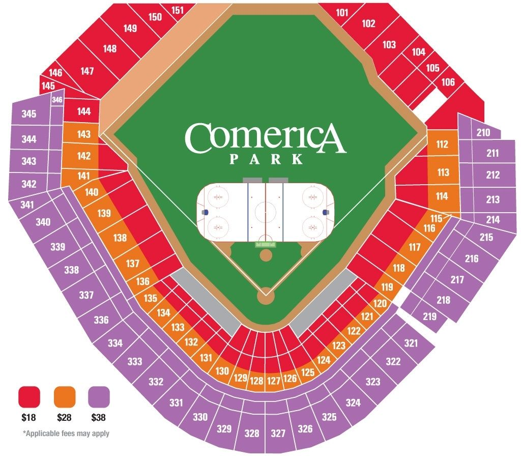 Detroit Tigers Seating Chart In 2020 Seating Charts Detroit Blue Seating