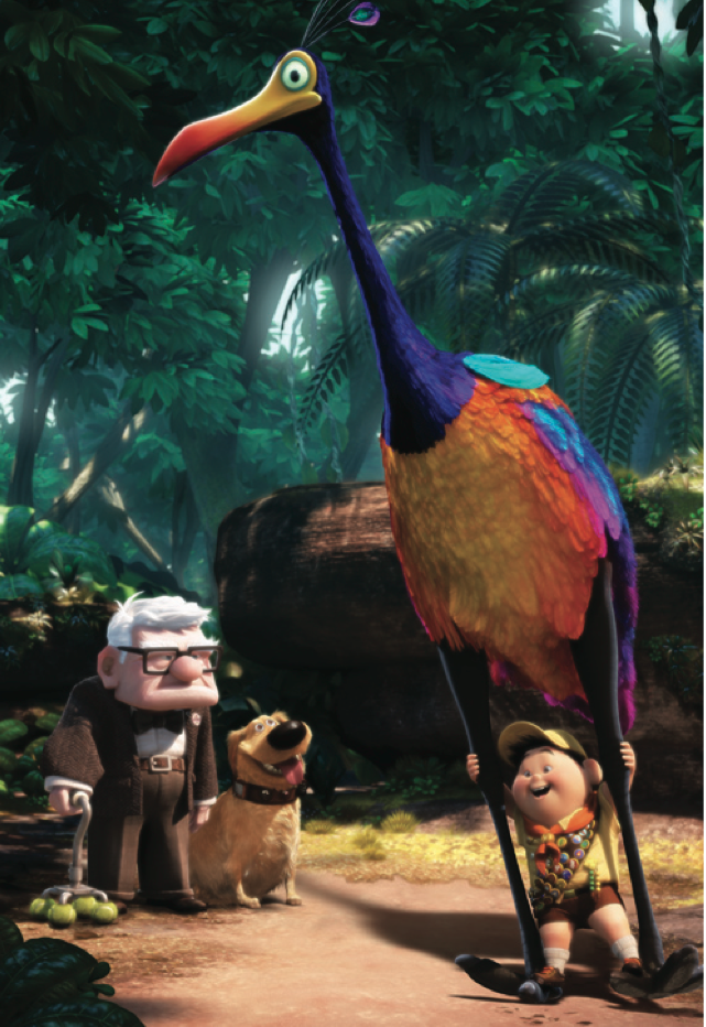 *CARL, DUG, KEVIN & RUSSELL ~ UP, 2009 | Disney pixar ...