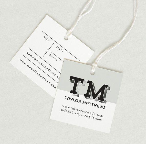 Printed Fabric Label, Price Tag, hang tag custom clothing label ...