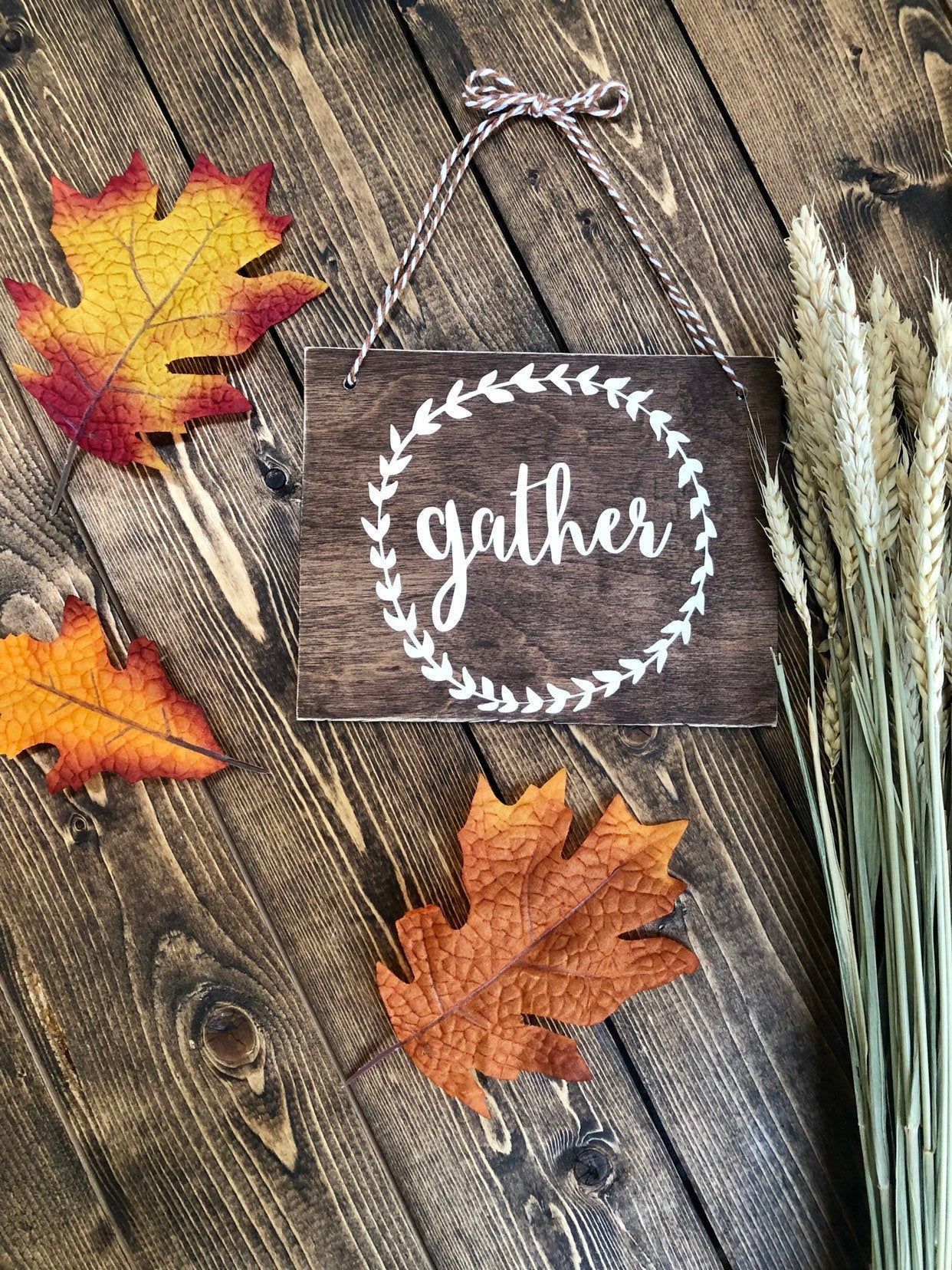 Rustic Gather sign, Wood sign, Fall decor, Fall door sign, Gather decor, Rustic Farmhouse, Thanksgiving decor, Classroom decor #falldoordecorationsclassroom Rustic Gather sign, Wood sign, Fall decor, Fall door sign, Gather decor, Rustic Farmhouse, Thanksgiving decor, Classroom decor #falldoordecorationsclassroom