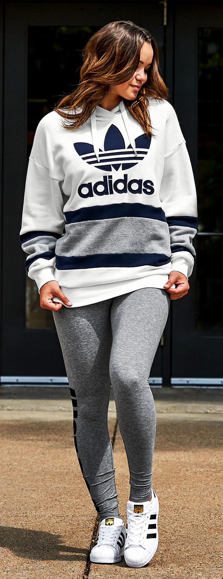 Weekly Women S Must Haves The Hottest Styles From The Top Brands Adidas Outfit Women Adidas Hoodie Outfit Adidas Outfit [ 1900 x 735 Pixel ]