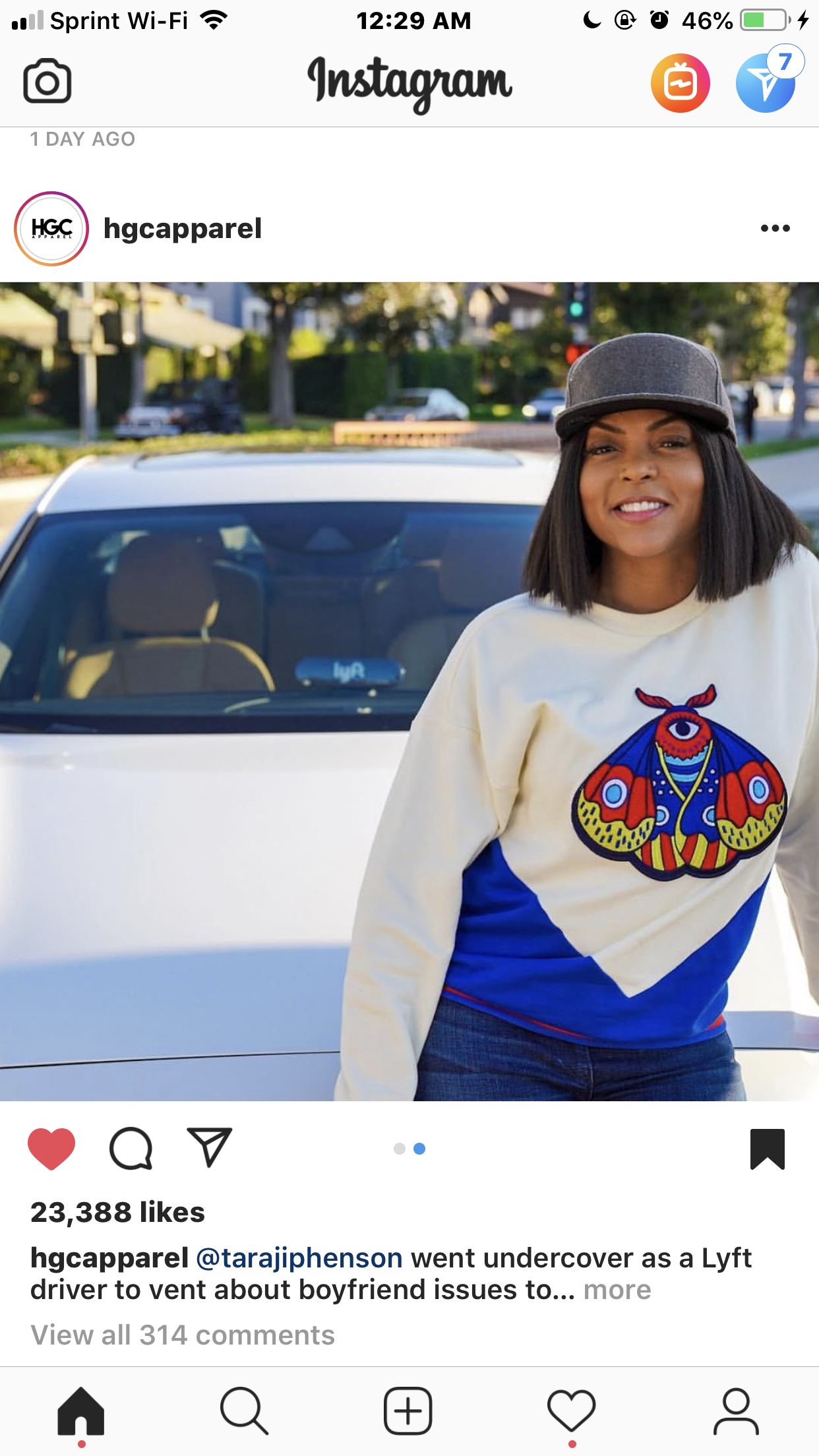 THE DAY TARAJI P. HENSON WENT UNDERCOVER AS A LYFT DRIVER