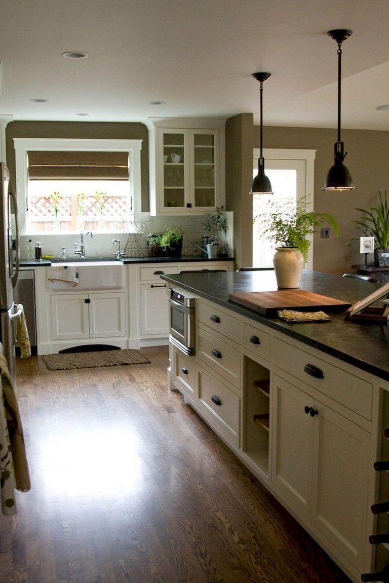 75+ Best Farmhouse Kitchen Design Ideas (With images ...