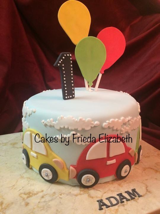 Car Cake 1st Birthday Cake For Boy Zakusky Torta