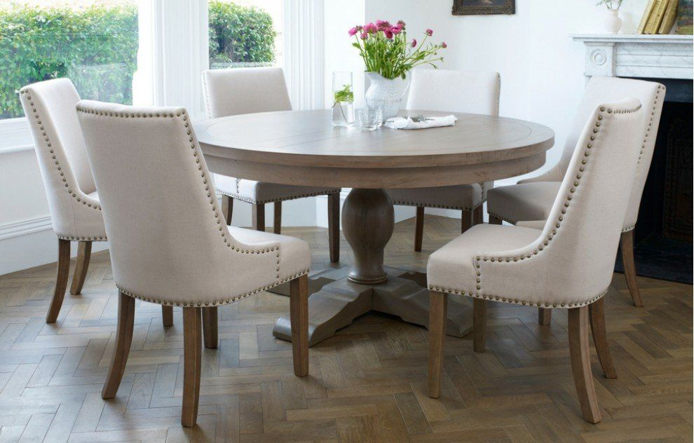Balmoral Classic 6 Seater Round Dining Set Round Dining Room