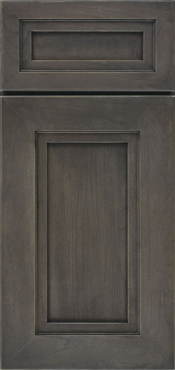 Loring cabinet door style is modern with a mitered moulded for Types of kitchen cupboard doors
