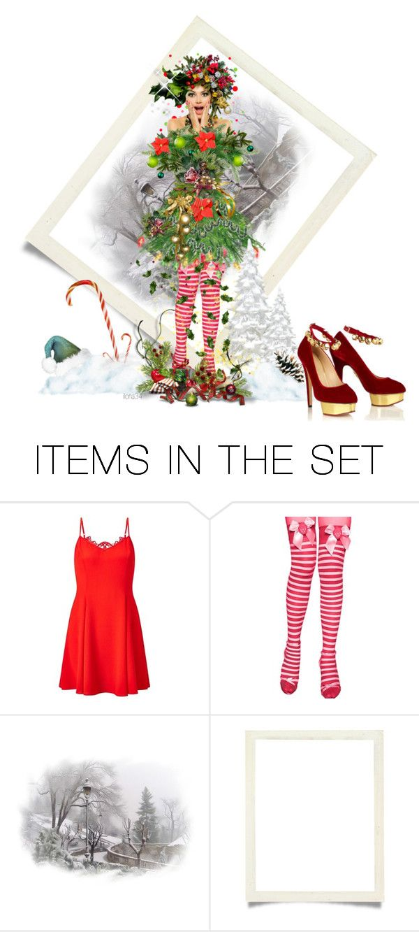 """""""Christmas DOLL"""" by ilona2010 ❤ liked on Polyvore featuring art"""