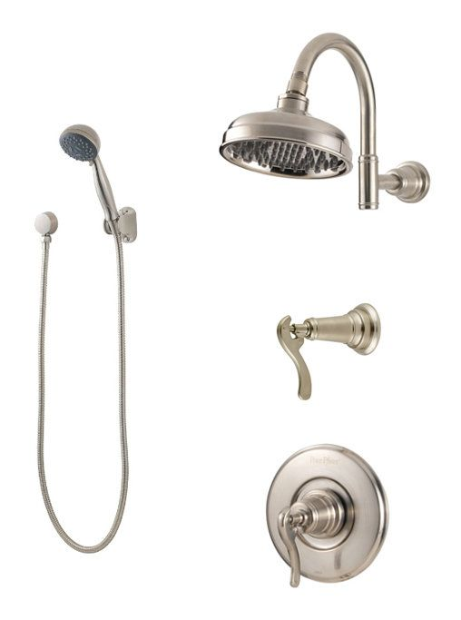 Pfister B89 7yp Shower Heads Shower Systems Shower Panels