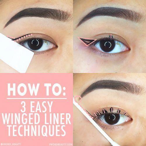 Soft winged liner Makeup #wingedliner