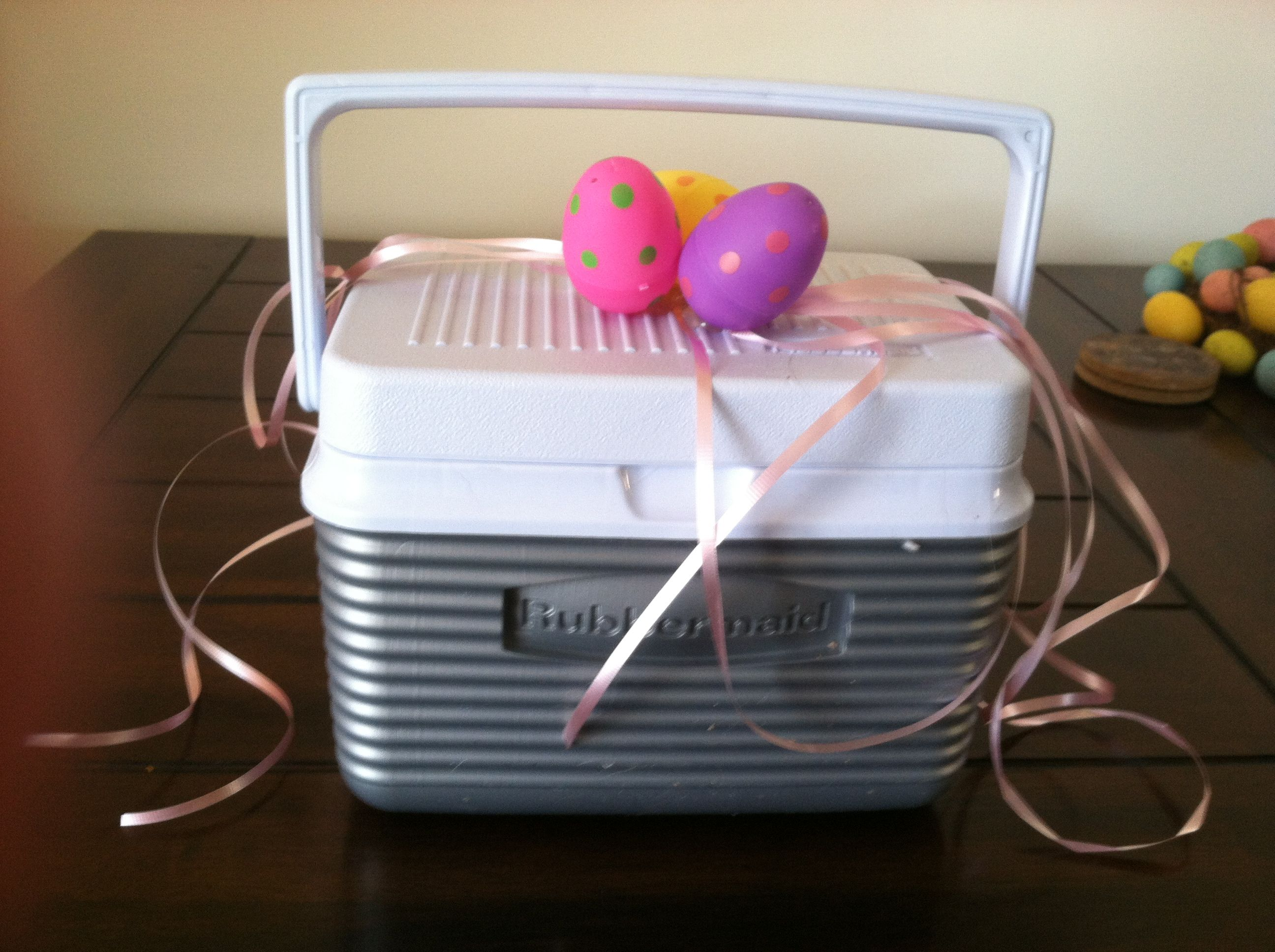 Easter basket idea instead use a lunch box great for older kids easter basket idea instead use a lunch box great for older kids negle Images