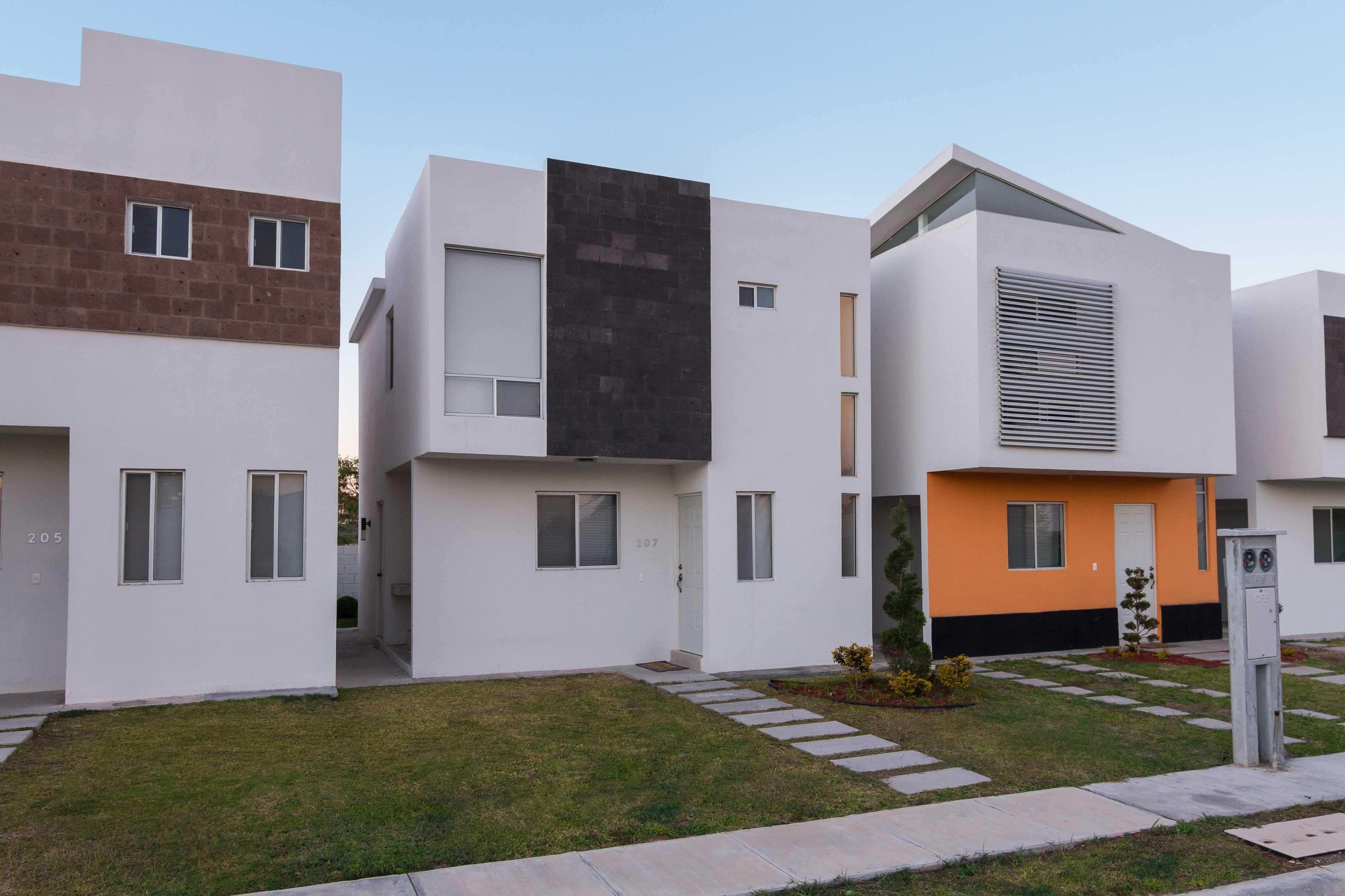 Home decore house fachada casa mexico for Proyectos casas minimalistas