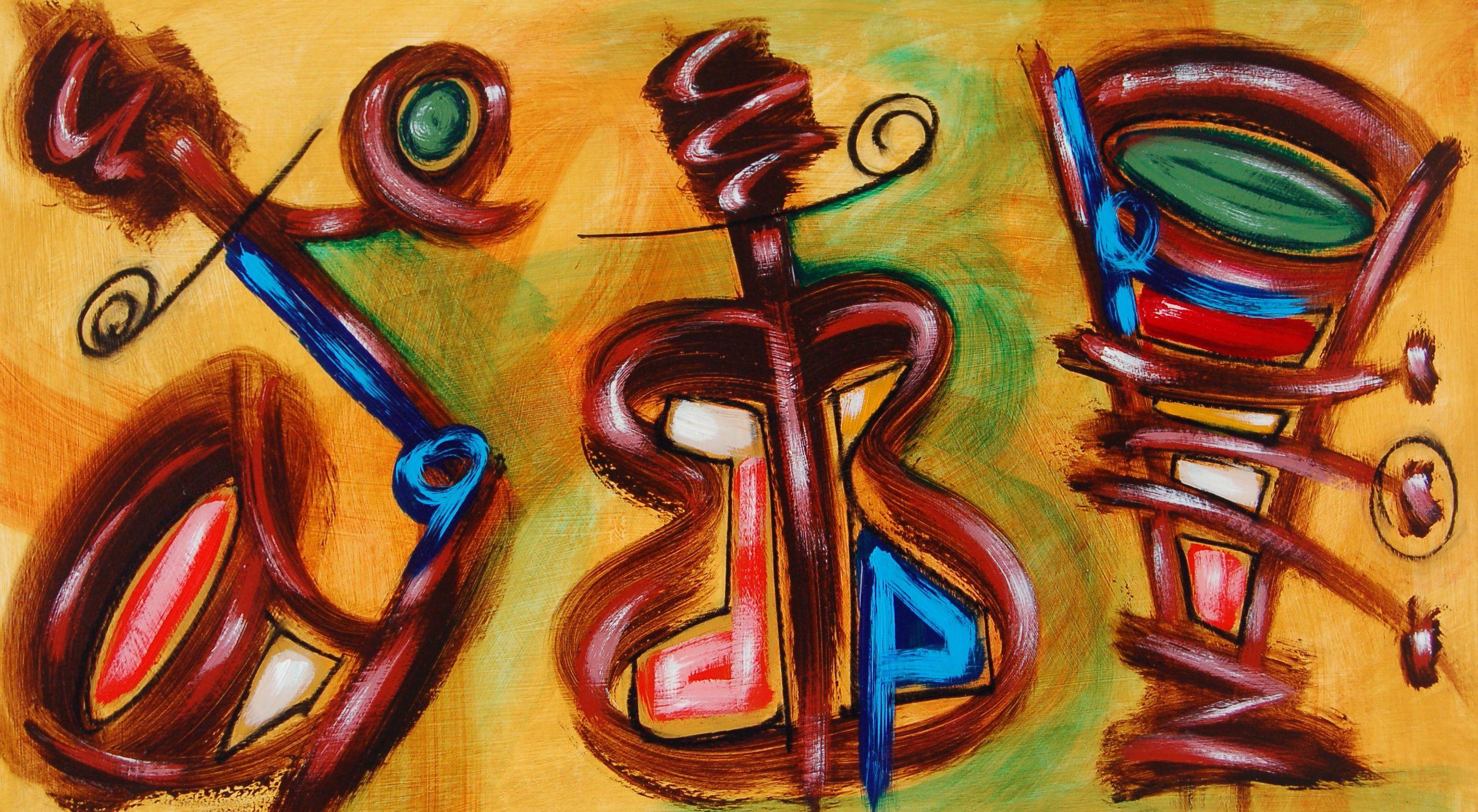 Abstract Art Music