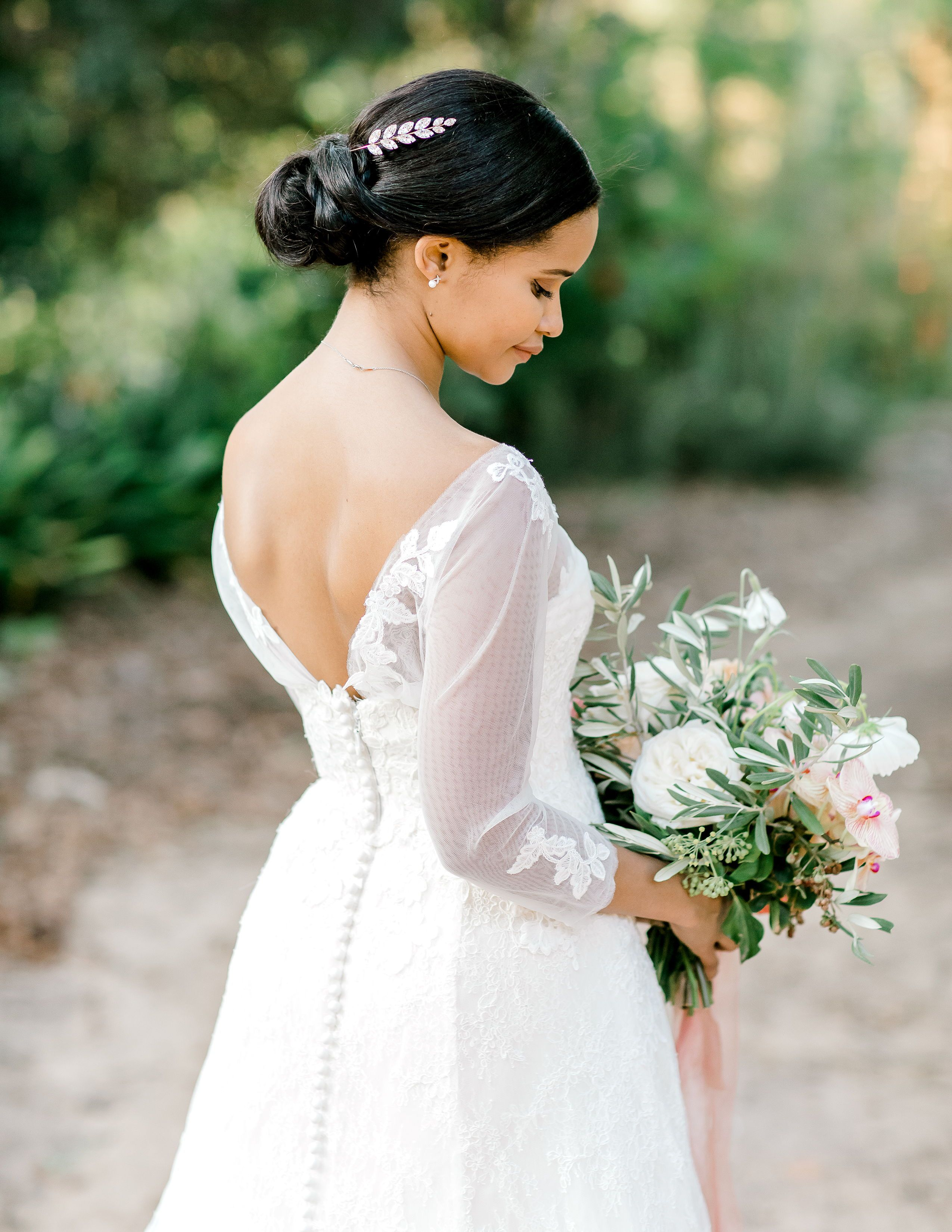 This Couple Tied The Knot In A Garden In Cape Town And Then Celebrated In A Restored Wine Cellar Wedding Dress Long Sleeve Wedding Dresses Wedding Dress Inspiration [ 3300 x 2550 Pixel ]