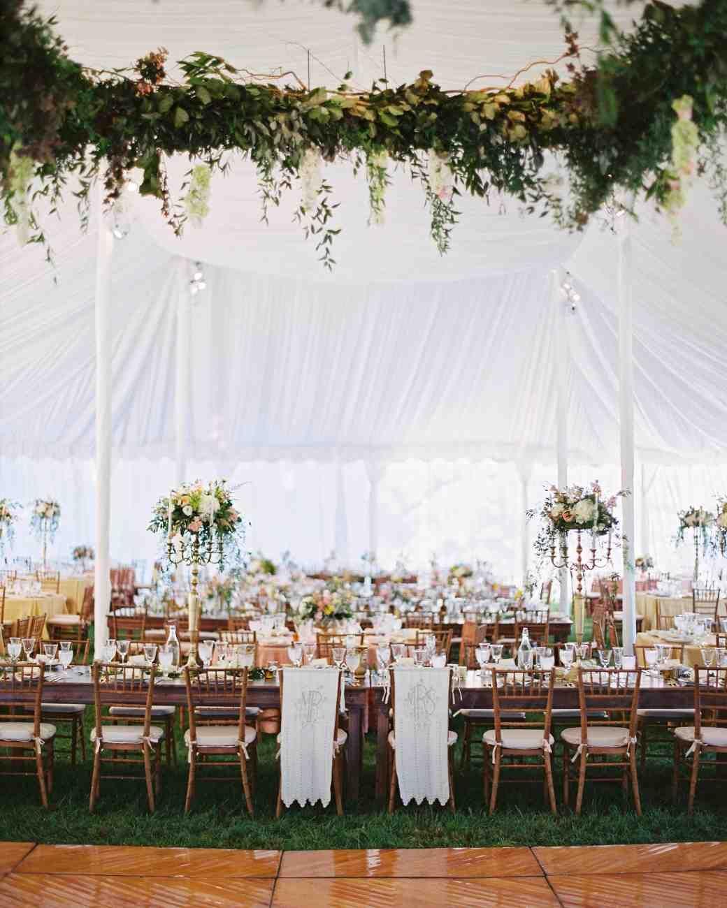 An Elegant Garden Wedding Near Baltimore Wedding