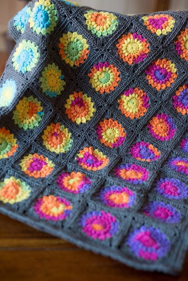 Made with stylecraft merry go round. | Knitting /Crochet - Blankets ...