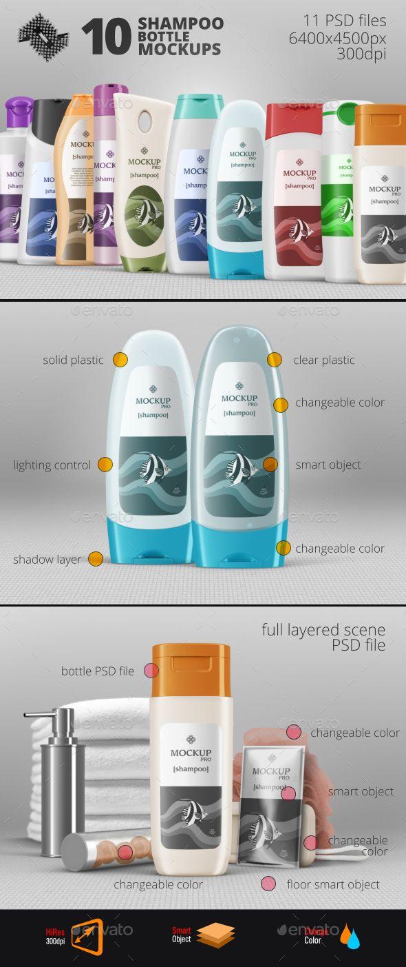 6 poster design photo mockups 57079 - 10 Shampoo Bottle Mockups Design Download Http Graphicriver Net