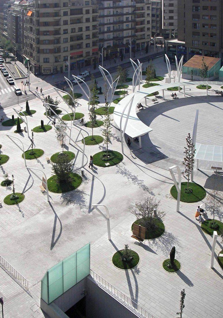 Plaza indautxu en bilbao por jaam sociedad de arquitectura - Estudios arquitectura bilbao ...