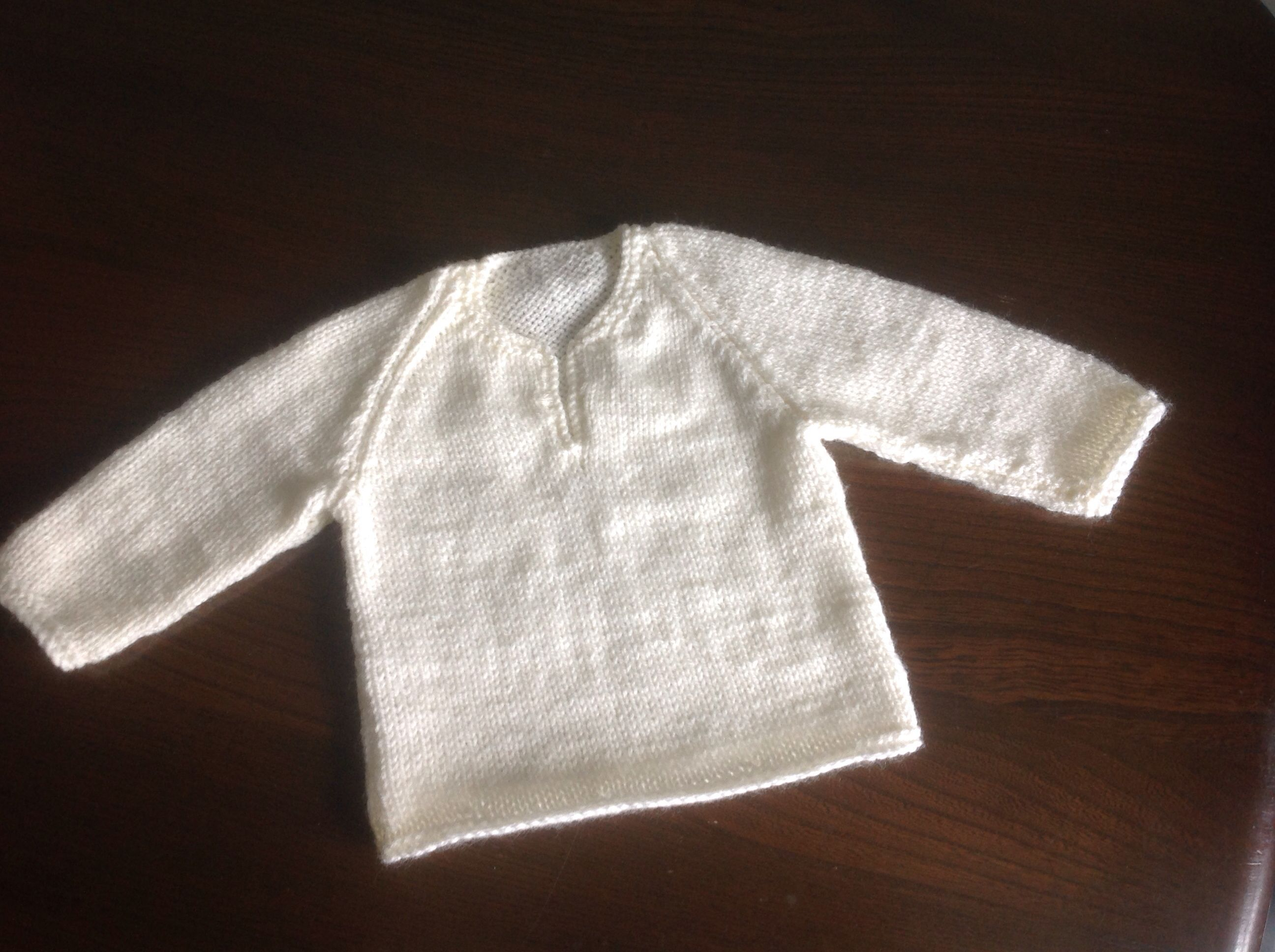 Cream Pullover project by Maureen M