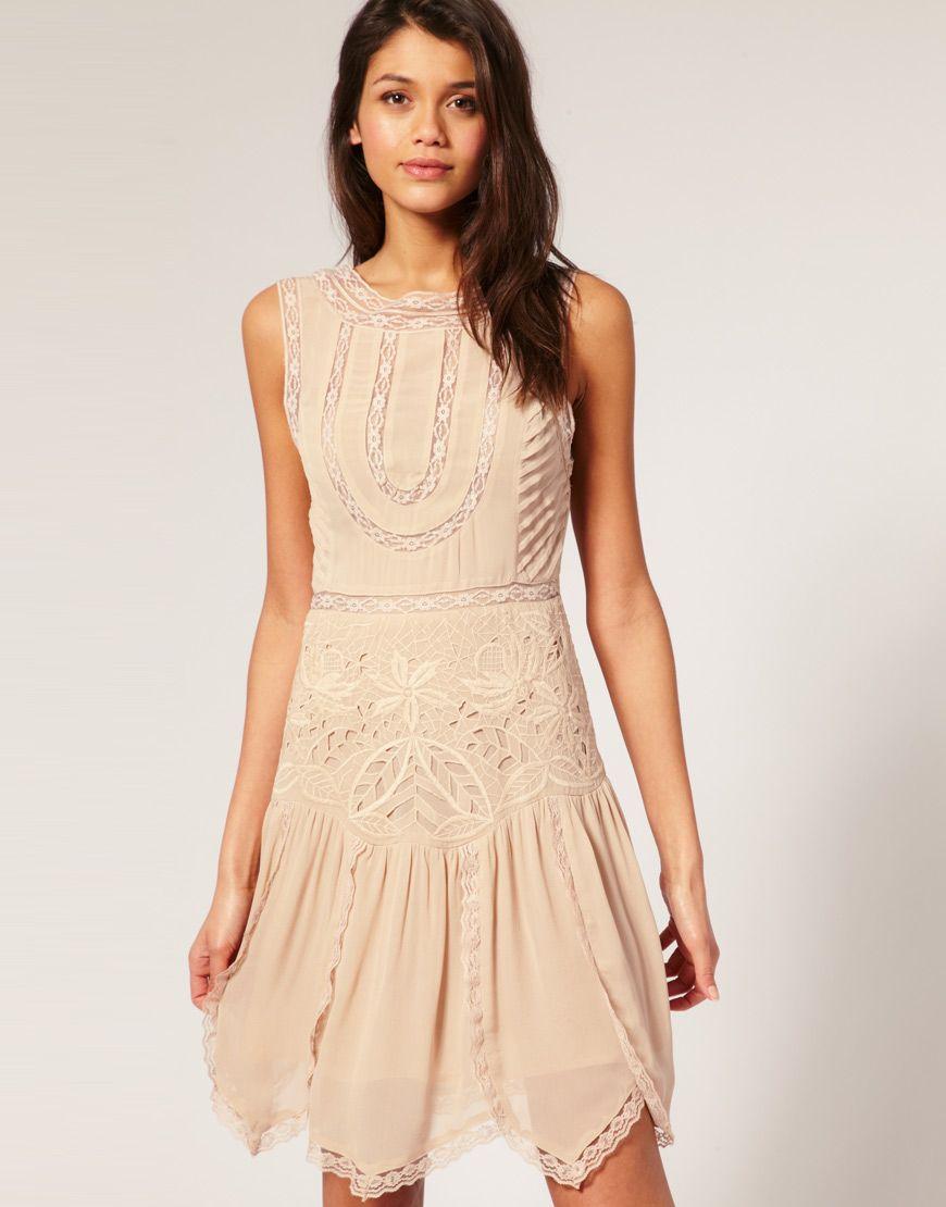 asos antique cutwork flapper dress £75.00 - so pretty! | lovely ...