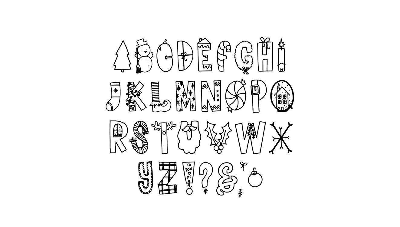 Rad Tidings Digital Font (Personal License) | Happy font ...