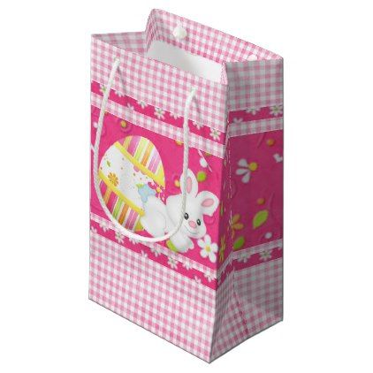Easter bunny small gift bag small gift bags and party gifts negle Images