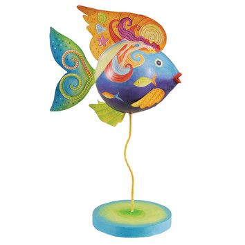 Mermaid Fish Figurine