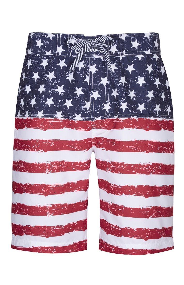 Stars And Stripes Board Shorts