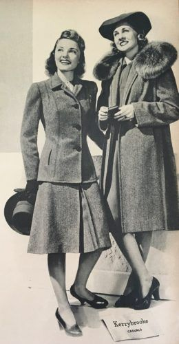 Women S 1940s Victory Suits And Utility Suits 1940s
