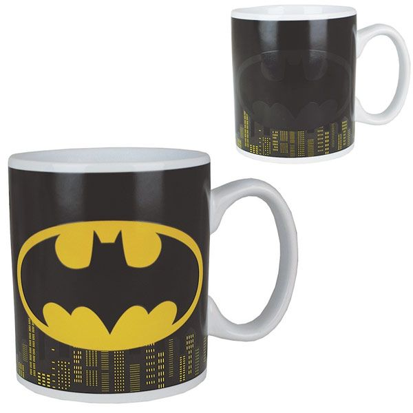 Batman Heat Change Mug Bat signal Gotham and Batman