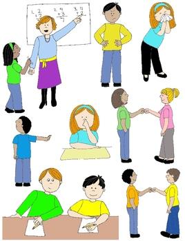 Social Skills Clipart : social, skills, clipart, Action:, Social, Skills, Pragmatic, Language, Visuals, Skills,, Interpersonal, Relationship