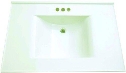 Premier Faucet 261348 Cultured Marble Vanity Top, 22 x 37, White Premier Faucet http://www.amazon.com/dp/B00FOTLD9O/ref=cm_sw_r_pi_dp_S4dLub1GMVRP6