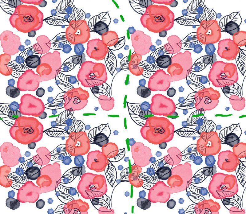 How To Create Seamless Surface Pattern Repeats With Images