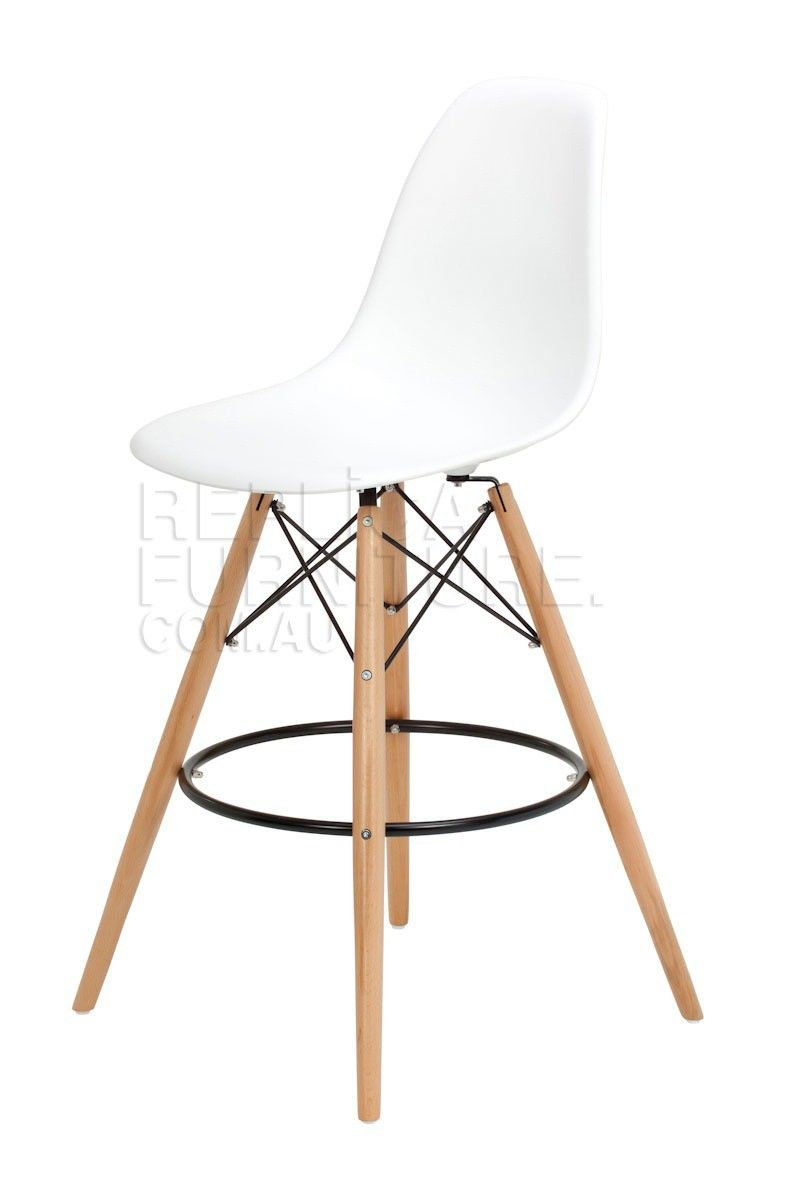 Buy the Replica Charles Eames style Bar Stool online from Replica. This fabulous Eames Bar stool replica will suit your island or kitchen bench and is ...  sc 1 st  Pinterest & Replica Charles Eames style Bar Stool -- This replica Charles ... islam-shia.org