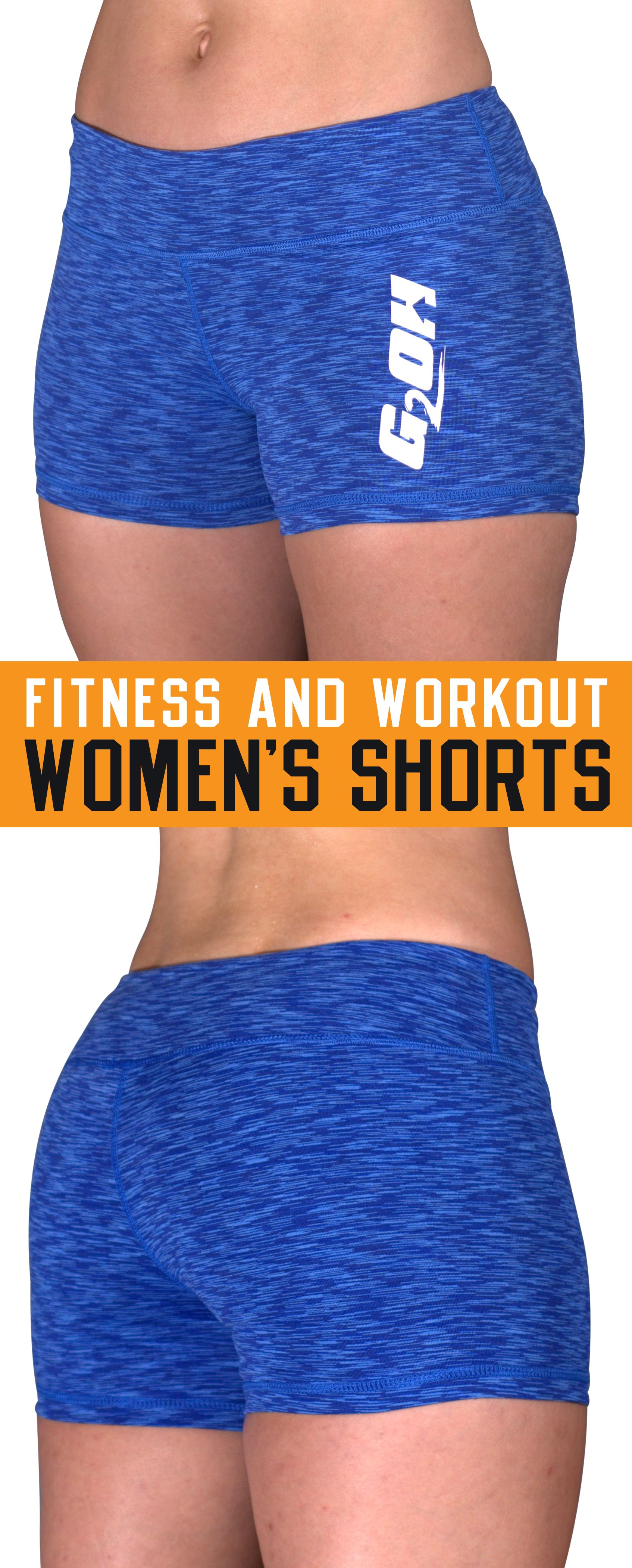 3c31e918cfe2 G2OH Women's Tight Shorts are super comfy, stay in place while you work out,