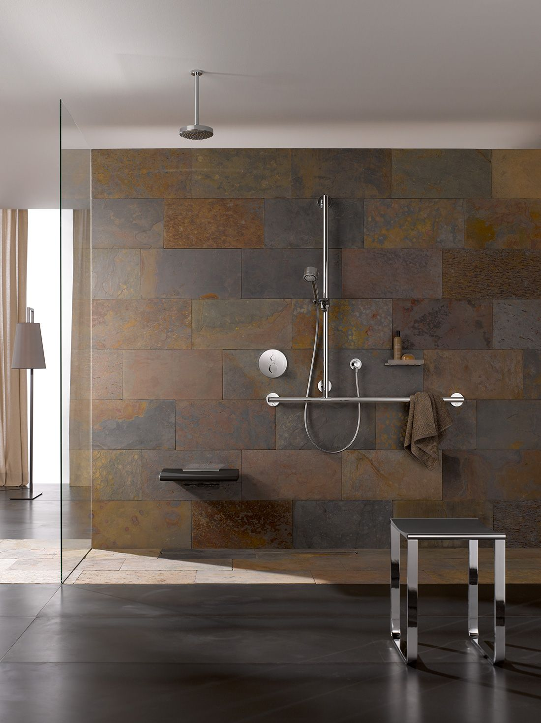 A modern approach to accessible design | Shower riser rails, Shower ...