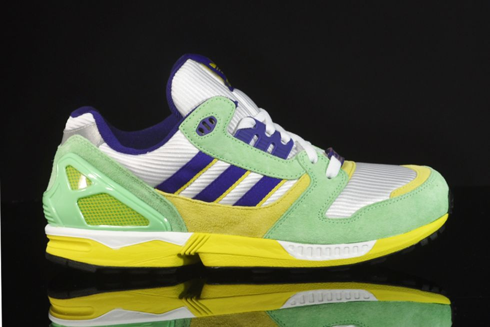 premium selection 44631 19a57 adidas ZX 8000 White/Super-Green/Collegiate Purple | adidas ...