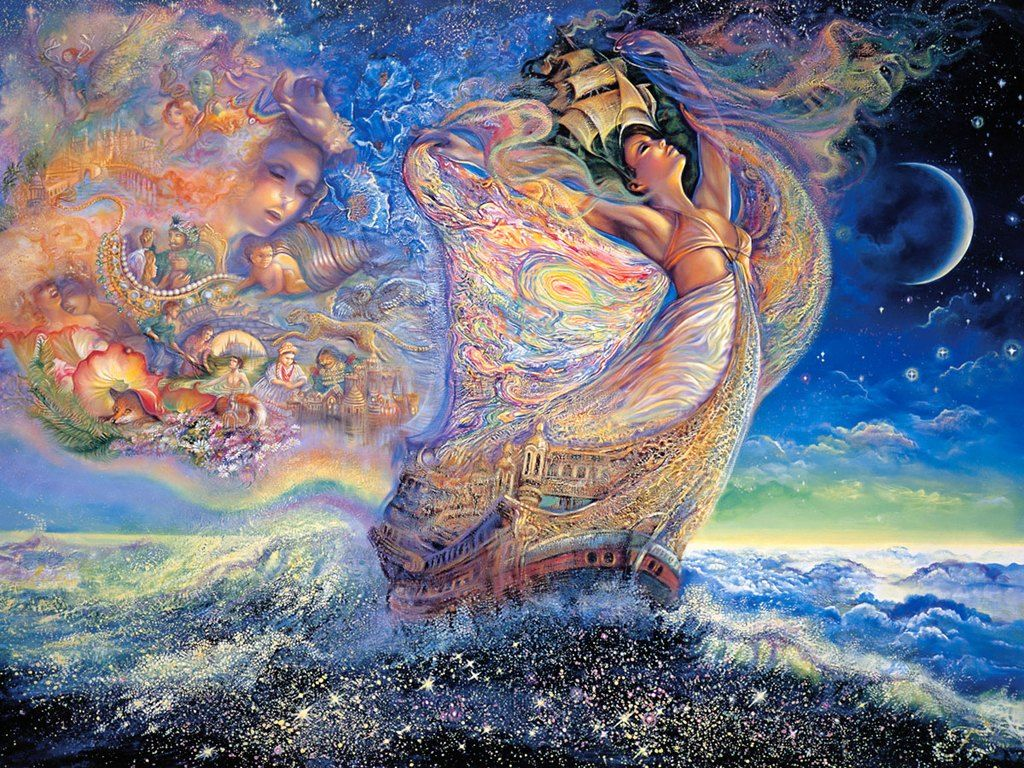 Josephine wall paintings art paintings fantasy art pinterest josephine wall paintings art paintings voltagebd