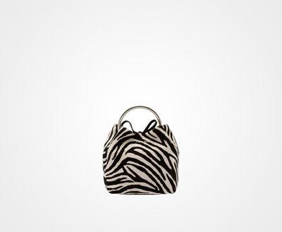 efadbe14902895 ... release date prada zebra print calf hair wristlet bag with ring 93cd8  ece08 ...