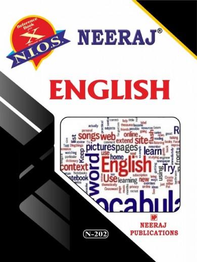 English Medium Nios 202 English Guide Book For Class 10th Guide Book English Book English