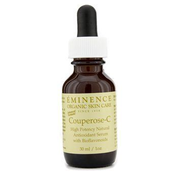 Couperose C High Protency Natural Antioxidant Serum 30ml/1oz by Eminence Organic Skin Care. $43.69. This beauty product is 100% original.. An intensely nourishing & anti-irritant serum Formulated with an antioxidant Rosehip Extract source of vitamin C Helps nourish skin & reduce inflammation or irritation Blended with antiseptic Peppermint to tone & pacify skin Loaded with Lavender to heal & soothe dry skin Skin appears calmer healthier & more comfortable Ideal...