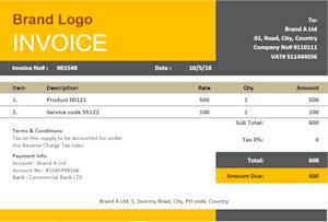 Tarekkabir I Will Design Qucikbooks And Xero Custom Brand Invoice Templates For 40 On Fiverr Com Custom Branding Invoice Template Branding Services