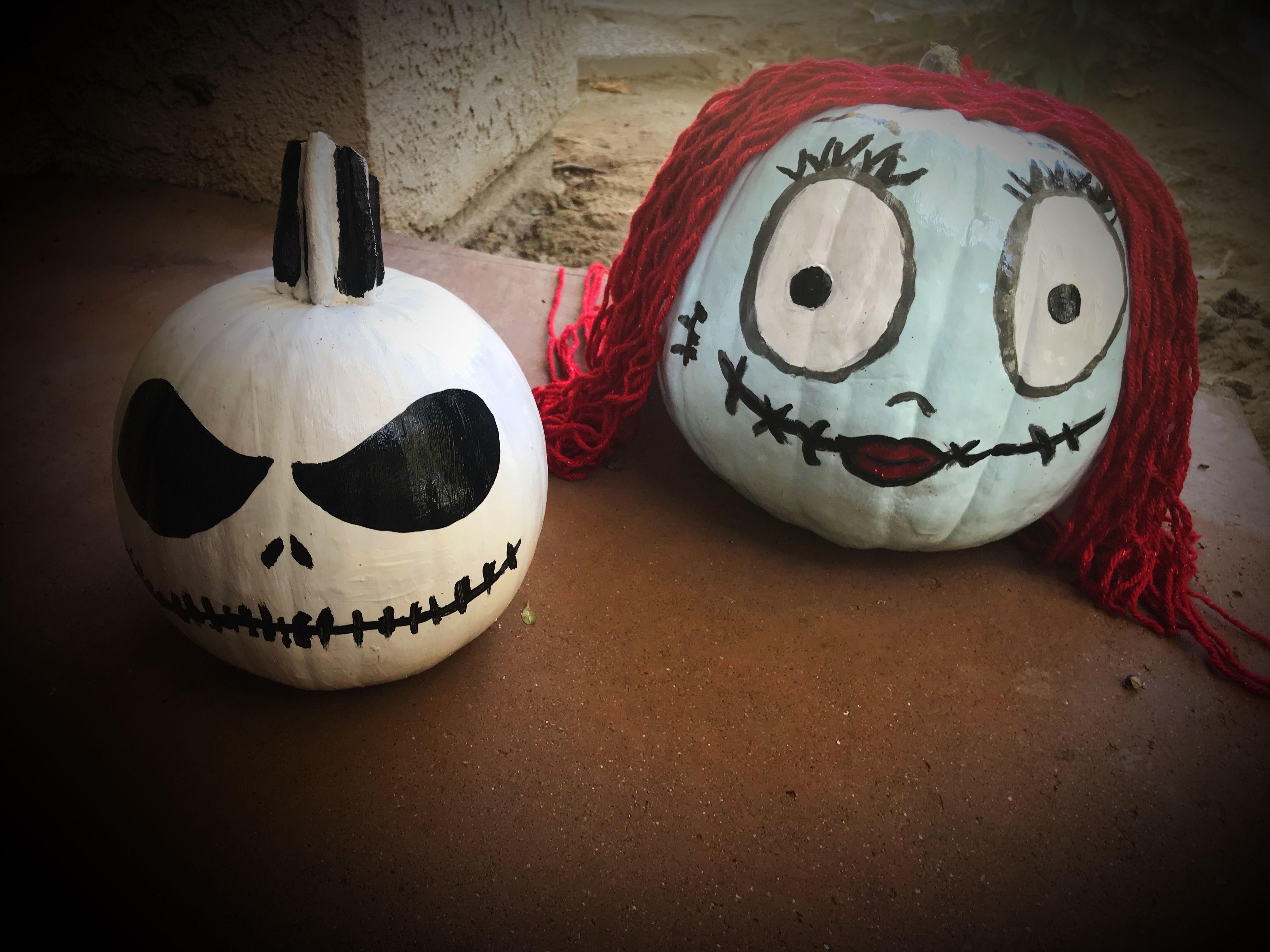 Jack Skellington and Sally from the Nightmare Before