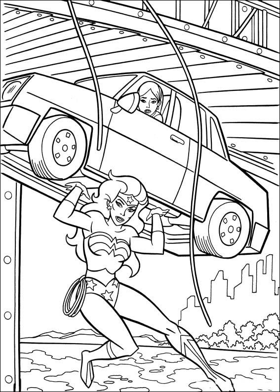 Dibujos para Colorear Wonder Woman Mujer Maravilla 36 | Dibujos para ...