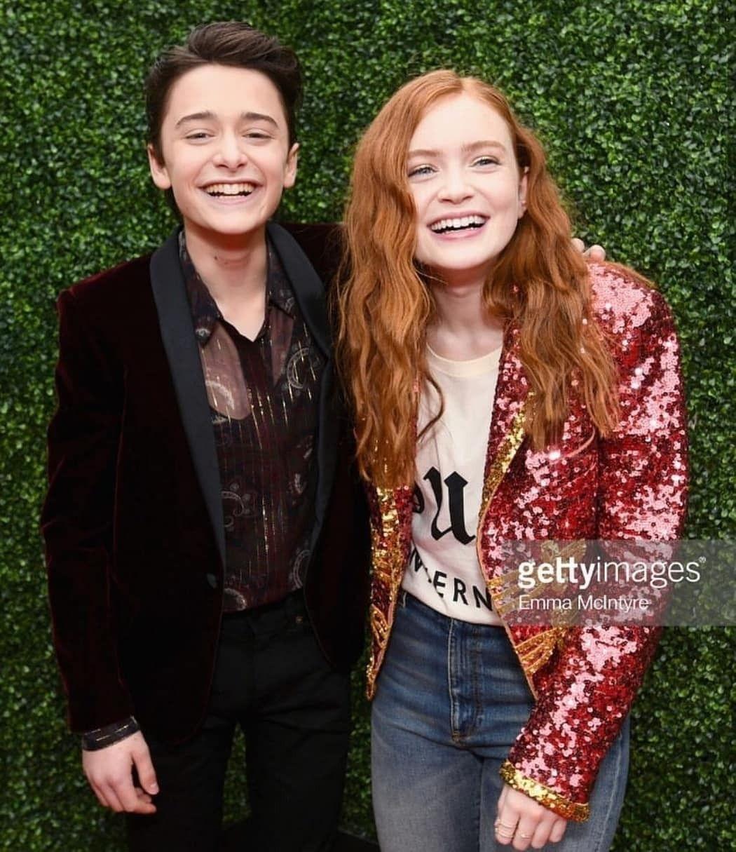 Noah Schnapp and Sadie Sink. My cuties | series en 2018 | Pinterest ...