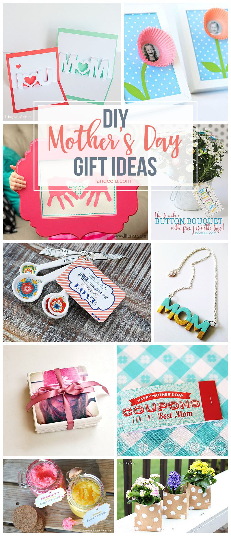 Awesome Diy Mother's Day Gifts Diy Mothers Day Gift Ideas Great Gift Ideas Diy Mothers Day