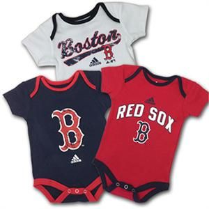 8b414c29 ... Boston Red Sox Baby Outfit (3 -Pack) Ronda Free Free Craddock ...