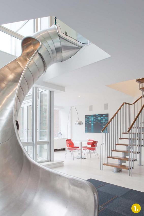 Great Slides In Houses: The Top 5 Coolest Indoor Slides!