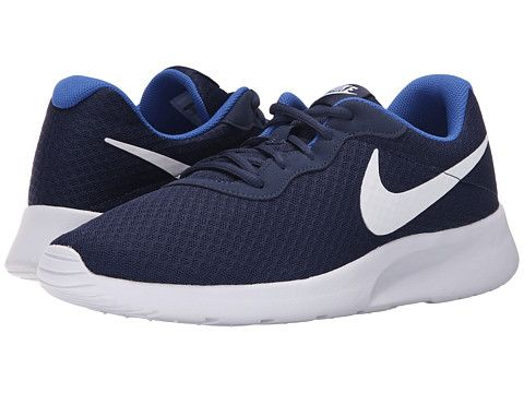 more photos 36efe 97e59 Nike Tanjun Midnight Navy Game Royal White - Zappos.com Free Shipping BOTH  Ways