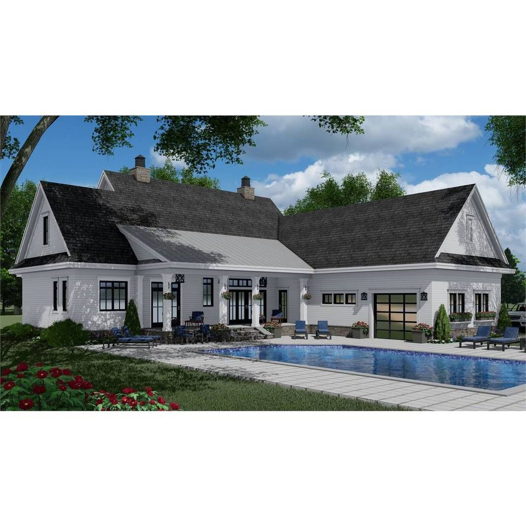 7375 ConstructionReady TwoStory Farmhouse Plan with
